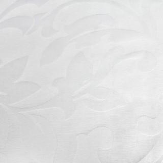 Скатерть 1,50х2,00 м белая «Валенсия» флор [00-white]
