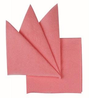 Салфетки бумажные розовые 250х250 мм 400 шт