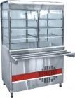 Прилавок-витрина холодильный «Аста» ПВВ-70КМ-С-НШ